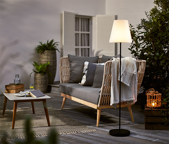 Stehleuchte, outdoor, LED