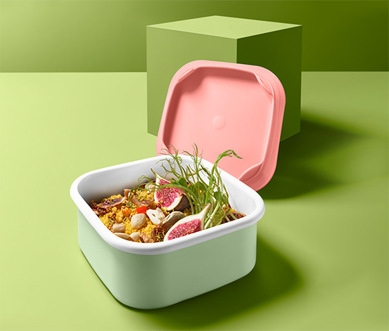 Emaille-Lunchbox