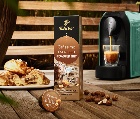 Flavoured Edition – Espresso Toasted Nut – 10 Kapseln
