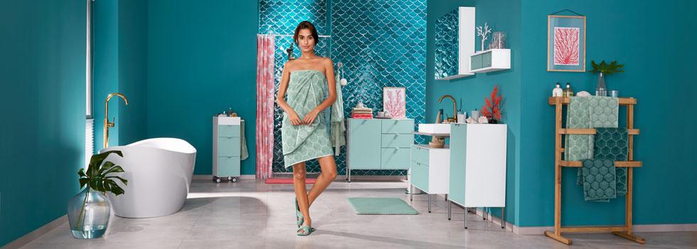 Badezimmer Trends Bei Tchibo Deko Textilien Und Mobel